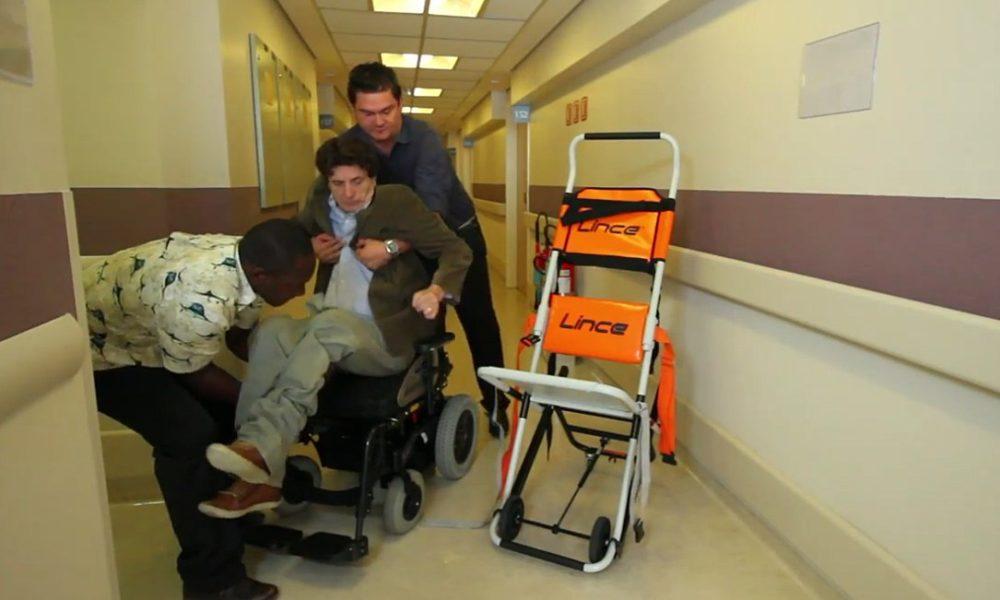 Pacientes aprovam o equipamento e citam os benefícios da mobilidade